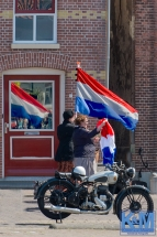 Come back of Dutch flag