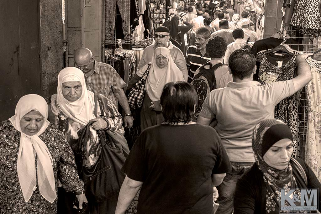 Old City: A crowded place