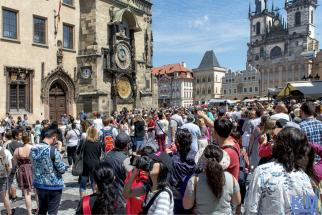 Prague - Mass Tourism around the Clock