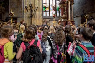 Prague - Mass in Church